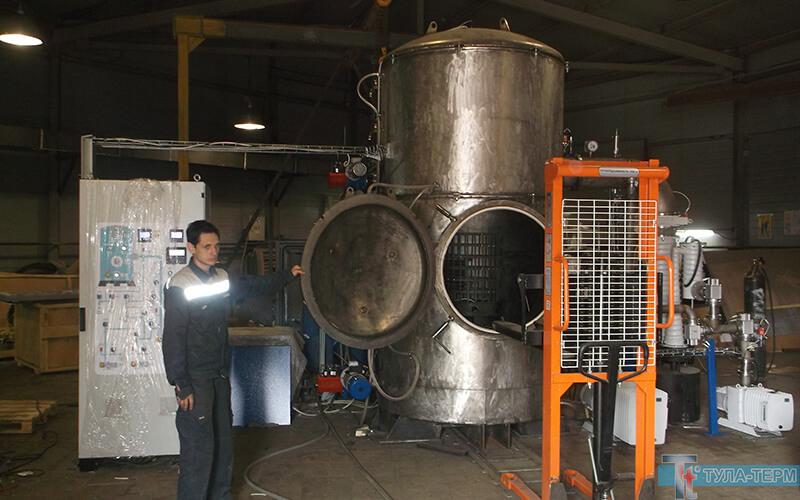 Испытания вакуумной печи СНВС-5.5/13-И5 (ТИП СЭВ) на заводе-изготовителе