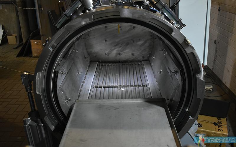 Вакуум компрессионная печь