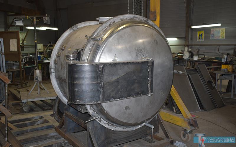 Печь в газоплотном корпусе