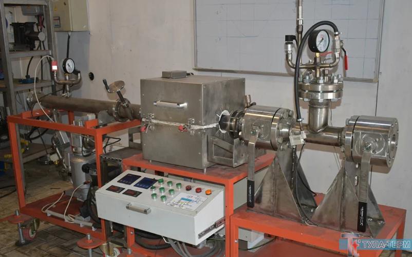 печь установки зонной перекристаллизации